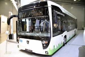 «КАМАЗ» передал электробус Москве