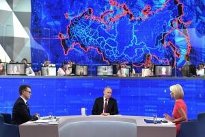 В ходе прямой линии Путин затронул тему беспилотных авто