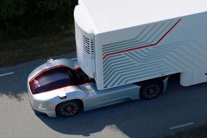 Беспилотные грузовики безопаснее и экономичнее