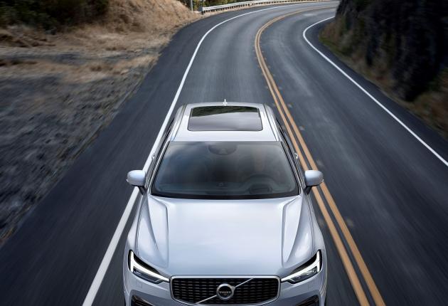 Volvo сама рулит