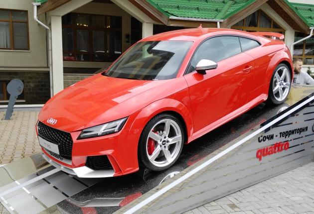 Audi везет в Россию беспилотные технологии