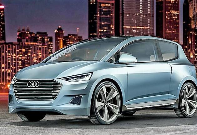 Audi выпустит компактный беспилотный электромобиль