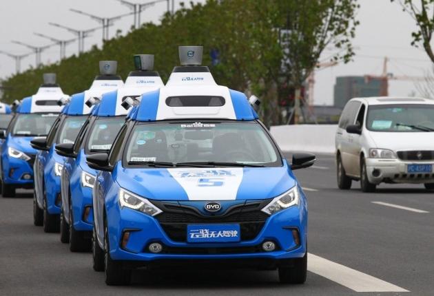 Беспилотные Baidu поехали еще в одном городе КНР