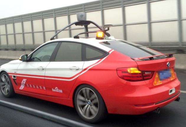 Baidu создает свою беспилотную систему