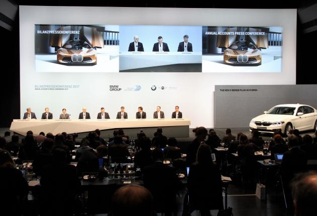 15 млн. километров беспилотных тестов от BMW
