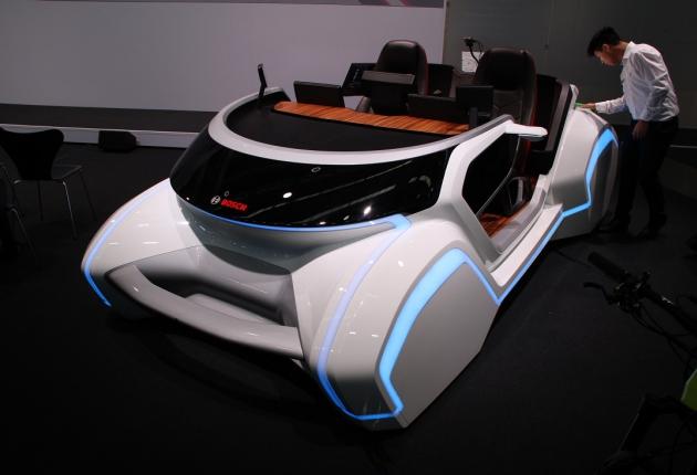 Новые технологии автокомпонентов на автосалоне во Франкфурте