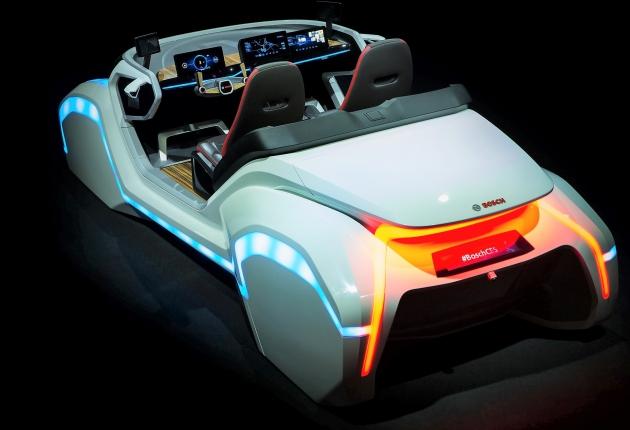 Беспилотный концепт-кар от Bosch