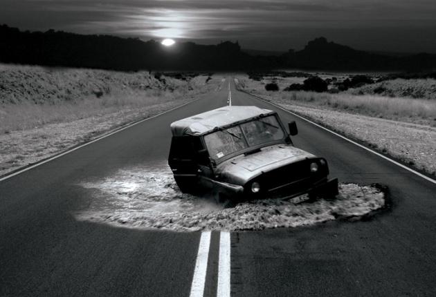 Ford предупредит о ямах на дорогах