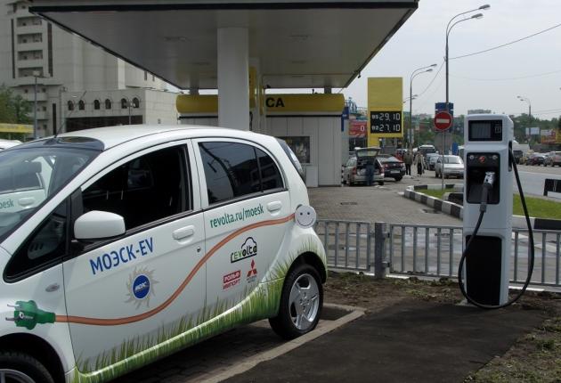 Станции для зарядки электромобилей нанесли на карту