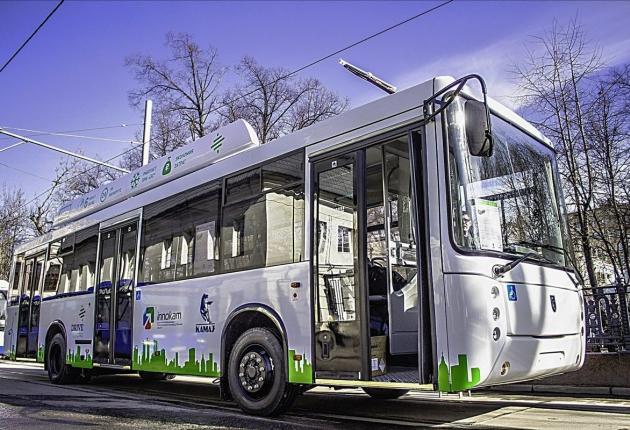 Электробус КАМАЗ появится в Казани
