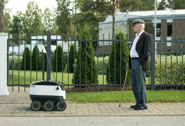 Эстония разрешает роботов