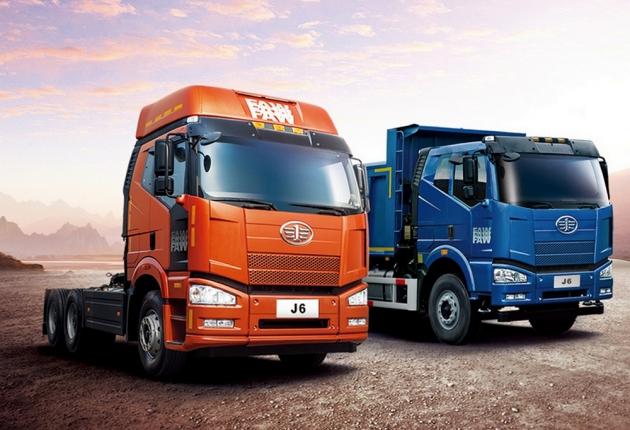 Китайцы протестировали беспилотный грузовик