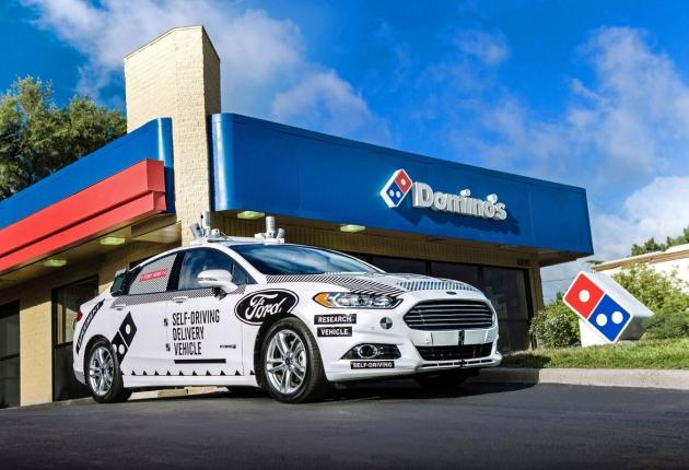 Ford будет доставлять пиццу беспилотниками