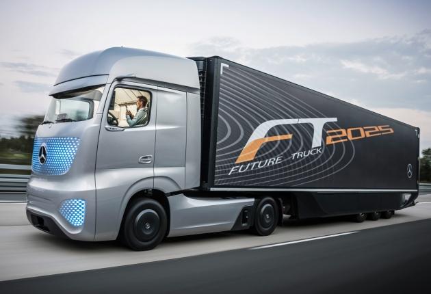 Беспилотные грузовики поедут в Британии