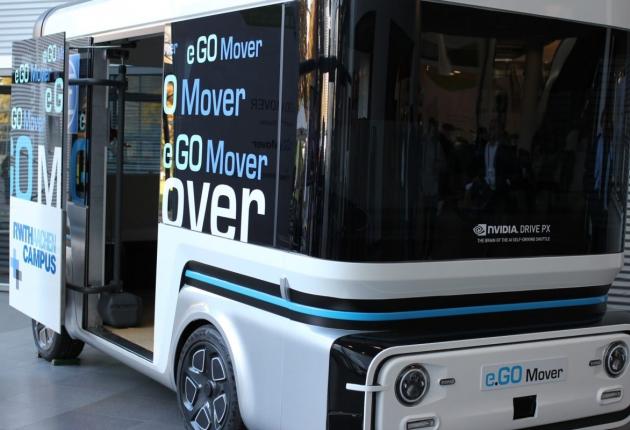 NVIDIA представила в Германии системы автопилотов
