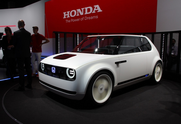 Honda Urban EV: концепт городского электрокара