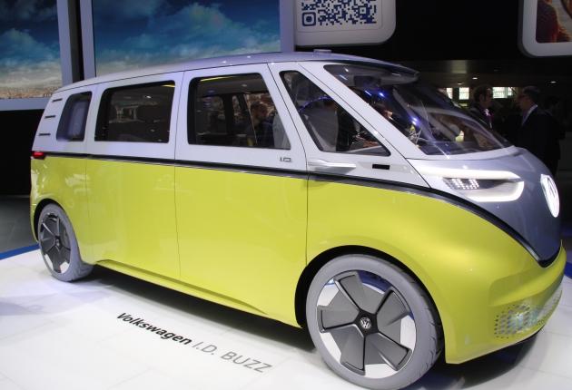 VW выставляет концепты беспилотников