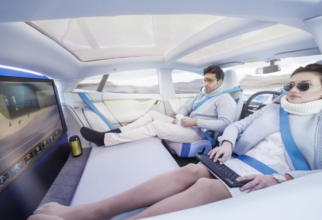 Больше половины водителей откажутся от личных машин