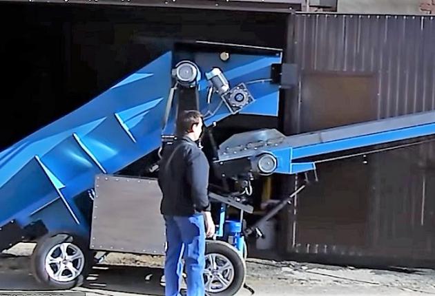 В Ижевске построили роботизированный трактор