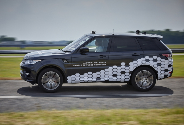 Jaguar Land Rover представил автономную технологию