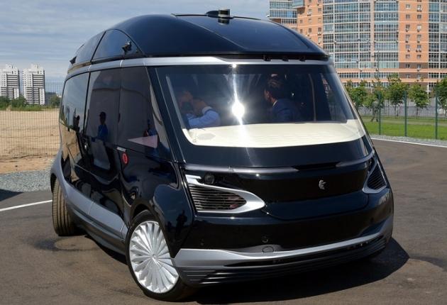 В Казани состоялась презентация беспилотного электробуса