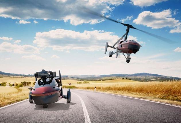 В России разрабатывают «летающий автомобиль» с автопилотом