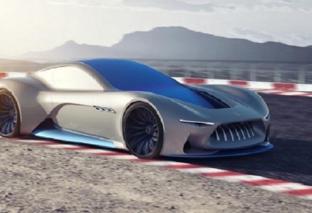 Беспилотный концепт от Maserati