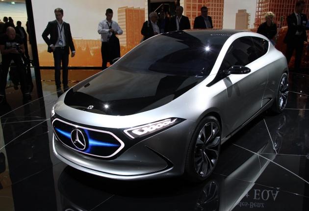 Mercedes развивает электрический суббренд