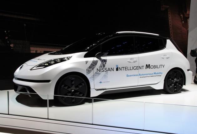 Mobileye и Nissan создают карты для беспилотников
