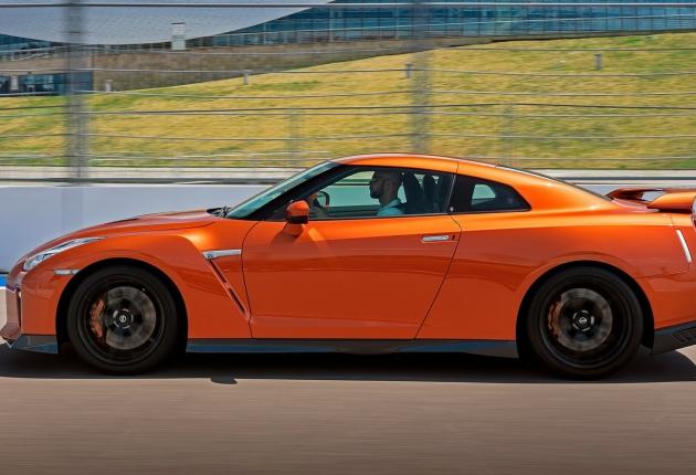 Ассоциация «Автонет» приняла участие в тест-драйве Nissan GTR