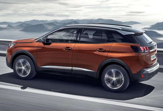 Peugeot ставит беспилотные системы на кроссоверы 3008