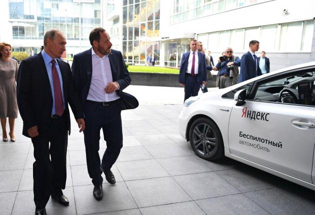 Демонстрация автономного авто президенту РФ прошла успешно