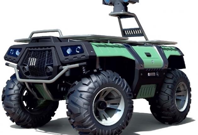 В РФ создан охранно-патрульный робот