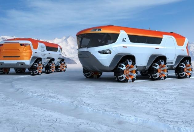 Роботизированные авто едут на Крайний Север