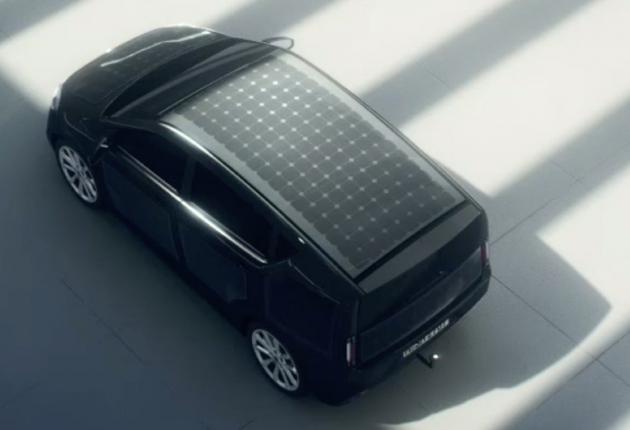 Электрокар на солнечных батареях