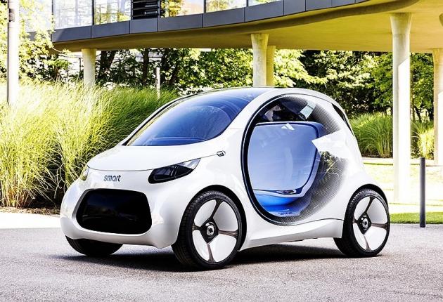 Представлен концепт Smart vision EQ fortwo