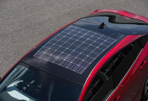 Audi сделает «солнечную» крышу