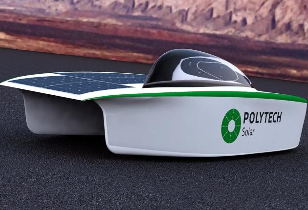 Российское авто на солнечной энергии