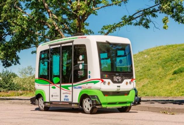 Беспилотные автобусы едут в Таллин