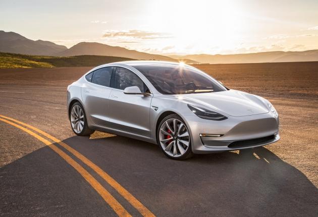 Убийца ДВС: представлена Tesla Model 3