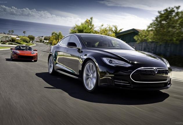 Aкции Tesla взлетели вверх