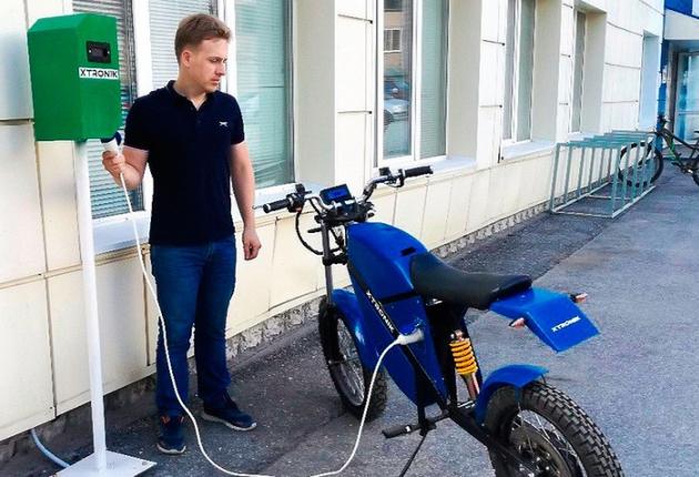 В Томске установили первую зарядную станцию для электромобилей