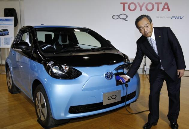 Toyota и Mazda заключают партнерство по электромобилям