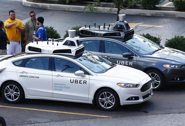 В ДТП с беспилотником Uber виновата другая машина