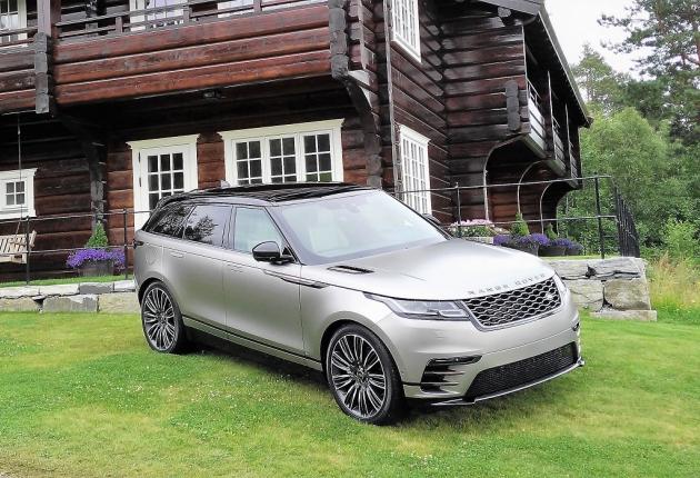 «Автонет» приняла участие в тест-драйве Range Rover Velar