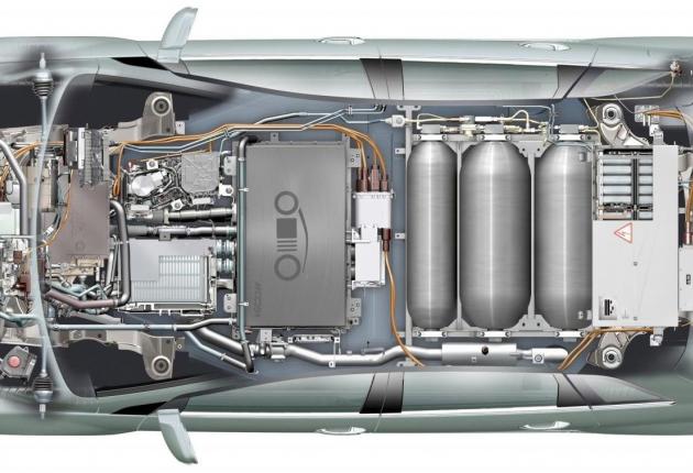 Водородный двигатель для беспилотников