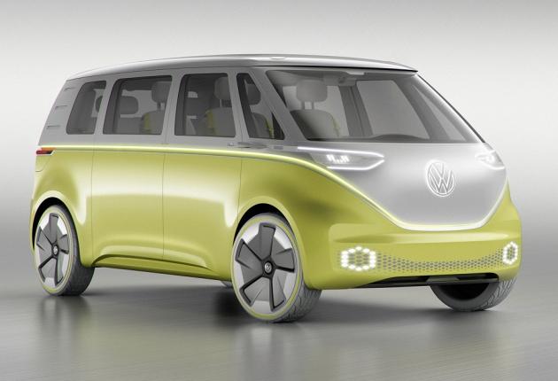Volkswagen выпустит минивэн с беспилотным управлением