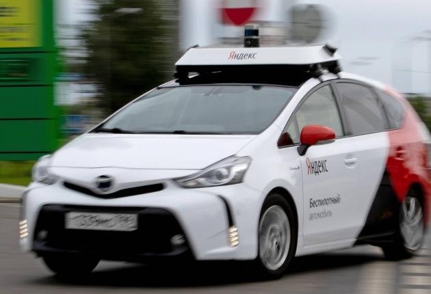 """Беспилотники """"Яндекс"""" проехали миллион километров"""