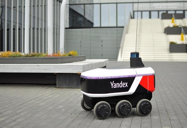 """""""Яндекс"""" запустил беспилотного курьера"""